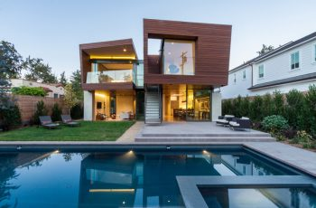 Contemporary House by Michael Kovac in Santa Monica California 1