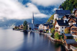 In Paradise Hallstatt by Herison Black