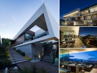 The MT House with an Amazing City View in Monterrey, Mexico