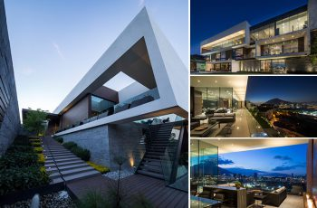 MT House with an Amazing City View in Monterrey Mexico 20