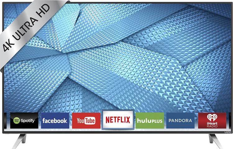 Vizio 43inche Smart 4K Ultra HD TV