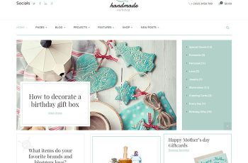 HandMade shop wordpress themes