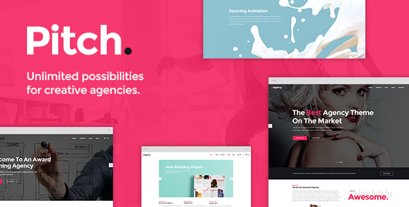Pitch Theme for Freelancers