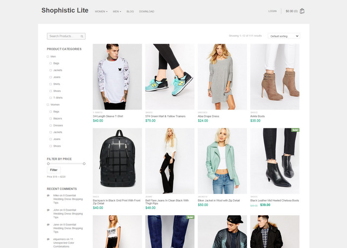 Top 20 WooCommerce Support Free WordPress eCommerce Themes