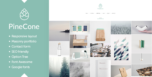 pinecone-creative-portfolio-and-blog-for-agency