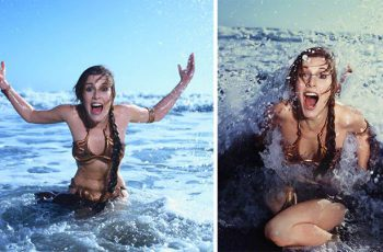 2 princess-leia-bikini-return-jedi-beach-shoot-1983-carrie-fisher