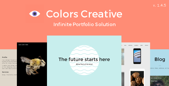 Colors Creative Portfolio Theme