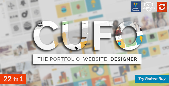 Cufo Responsive Customizable Portfolio Theme