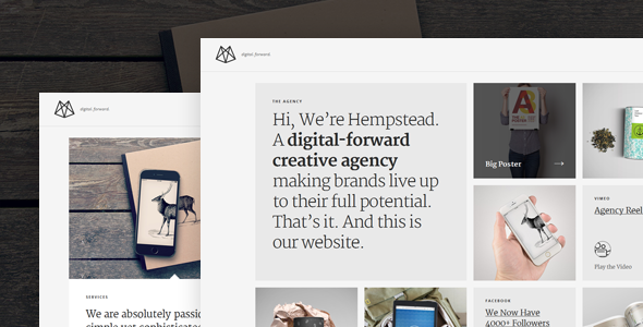 Hempstead WordPress Portfolio Theme