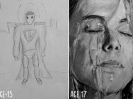 10 Before And After Drawings Show Practice Makes Perfect