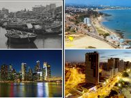 10 Incredible cities which have changed beyond recognition