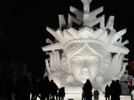 Spectacular Ice Sculptures Features at The 2016 Harbin Ice and Snow Festival