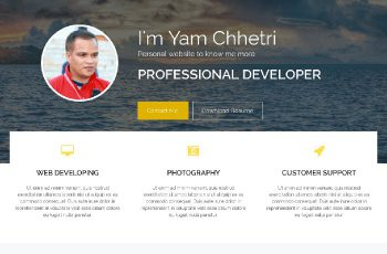 Biography Free Wordpress theme