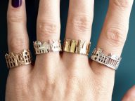 Architecture Rings Creative Pieces of Jewelry Inspired by World's Iconic Skylines of Beloved Cityscapes