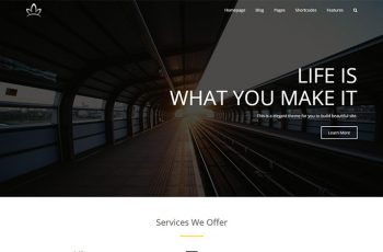 Free Business WordPress Theme Alchem