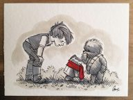 Illustrations Imagine Star Wars Characters As Winnie The Pooh And Friends