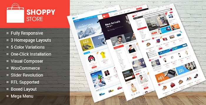 ShoppyStore WooCommerce WordPress Theme