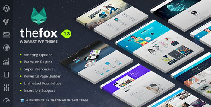 TheFox wp theme