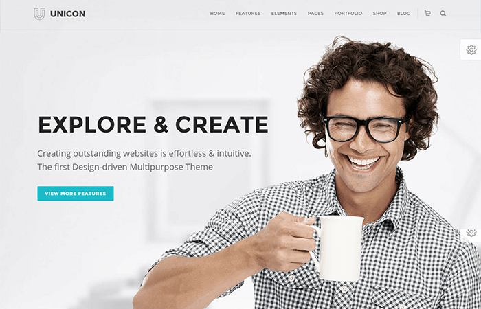 Unicon business WordPress theme