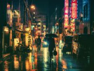 Stunning Night Photography Of Tokyo's Streets