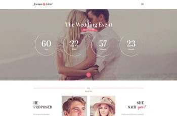 wedding-day-event-wordpress-theme 1