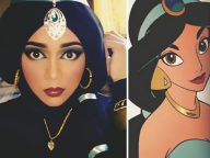 This Woman Cleverly Turns Herself Into Disney Princesses By Using Her Hijab