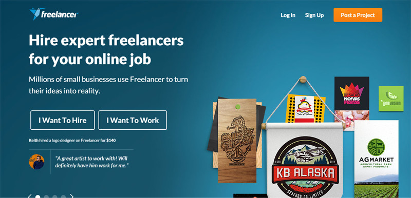 freelance jobs websites find work online