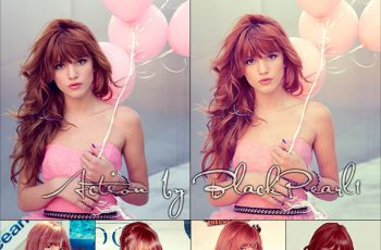 Beautiful Bella Photoshop Action