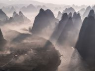 Breathtaking Landscapes of Guilin, China – Clouds, Rivers, and Mountains Had Spectacular View