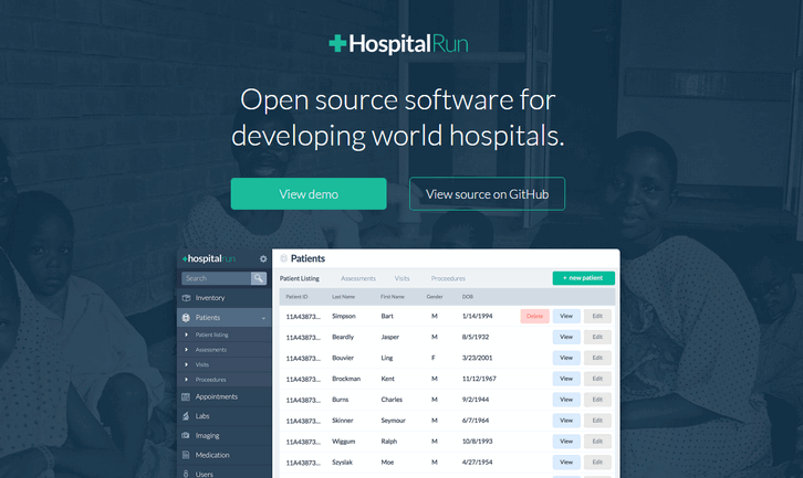 Open Source Software for Developing World Hospitals