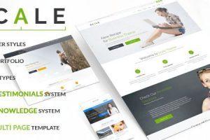 Scale Joomla Template