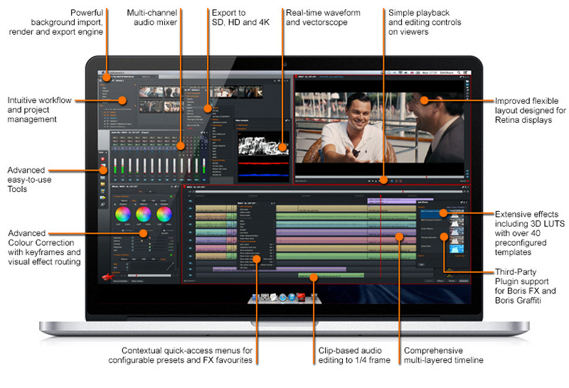 professional video editing software free download full version