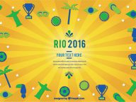 30 Free Sports-Related Graphic Design Resources for the Olympics 2016