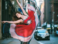 Breathtaking Portraits Capture Ballet's Finest Dancing on the Streets of New York