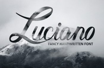 free font Luciano