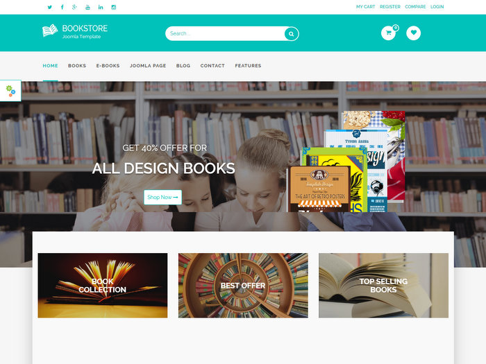 bookstore-joomla-template