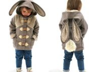 Adorable Children Clothes That Turn Kids into Little Bears, Rabbits and other Animals