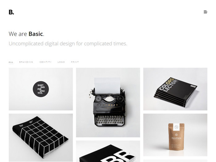 basic-minimal-portfolio-wordpress-theme