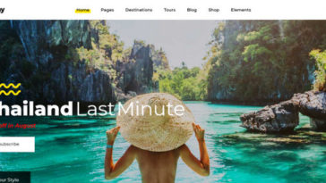 Getaway Tour Travel WordPress Themes