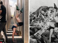 Artist Shames Tourists Taking Disrespectful Selfies At The Holocaust Memorial Site In Berlin
