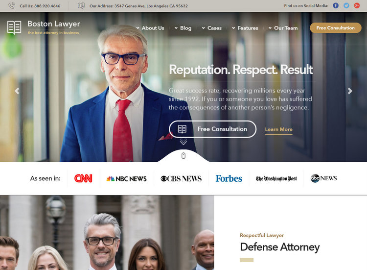 10+ Best WordPress Themes for Lawyers and Attorneys Websites (2017)