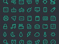 1000+ Free Download Outline Icons For Graphic And Web Designers