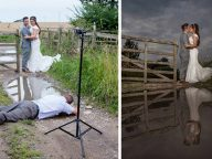 25 Photos That Prove Wedding Photographers Are Crazy