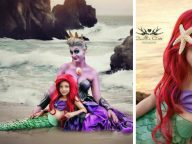 These Amazing Photos of 7-Year-Old Daughter And Mom Cosplay As Disney Characters Are Better Than The Real Thing