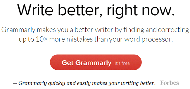 best free grammar checker tool Grammarly