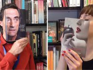 This Bookstore's Creative Photo Series Matches People's Faces with Book Covers