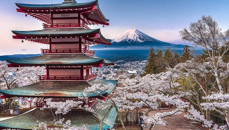 Japan Natural Landscape Photos Look Like Watercolors Paintings
