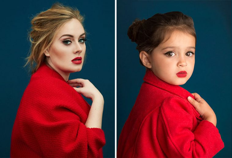 3-Year-Old Cute Girl Dresses Up As Famous Women Is Seriously Iconic