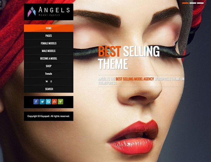 Angel Fashion WordPress Theme