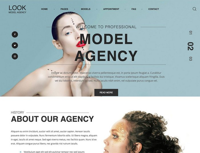 Look Fashion WordPress Theme